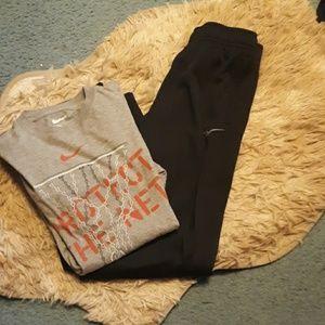 Boys Nike pants and shirt